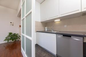 Kitchen o kitchenette sa Premium Urban Apartment Rovinj