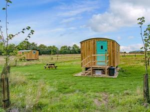 A garden outside Hut 4-UK11306