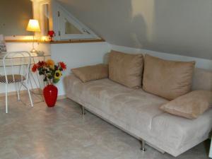 A seating area at Haus Barbara