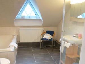 A bathroom at Haus Barbara