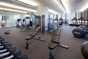 The fitness center and/or fitness facilities at Corporate Suites Network - River North Luxury 2 Bedroom