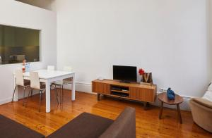 A television and/or entertainment center at Saboriccia Lifestyle