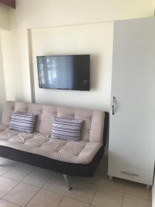 Een zitgedeelte bij Murat Apart Hotel