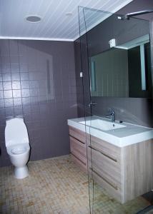 A bathroom at Voss Apartments - Vangsgata 42