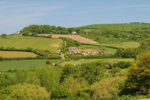 A bird's-eye view of Rudge Farm Cottages