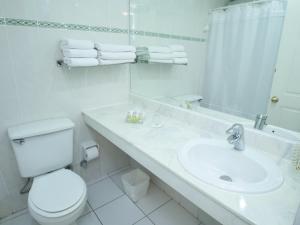 Un baño de Apart Hotel Diego De Almagro