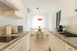 Kuchyňa alebo kuchynka v ubytovaní Hendrix Bridge Apartment 2