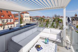 Balkonas arba terasa apgyvendinimo įstaigoje Taras Na Fali Apartments
