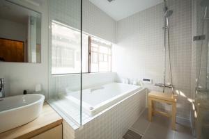 A bathroom at Koseiin Villa Garden