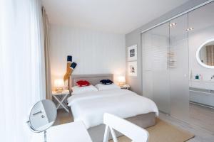 Lova arba lovos apgyvendinimo įstaigoje Taras Na Fali Apartments