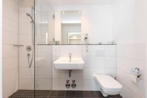 Een badkamer bij Bedas - Residenz an den Kaiserthermen