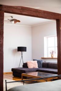 Atpūtas zona naktsmītnē Penthouse suite in the Old Town Tartu Holidays