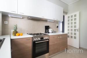 Küche/Küchenzeile in der Unterkunft Apartment 102m² - Roof Garden with Acropolis View
