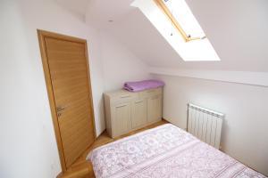 Krevet ili kreveti u jedinici u okviru objekta Apartments Deki