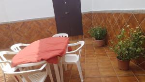 A balcony or terrace at Casa Trini