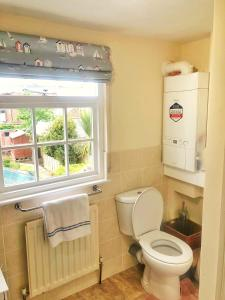 A bathroom at Bay Tree Cottage