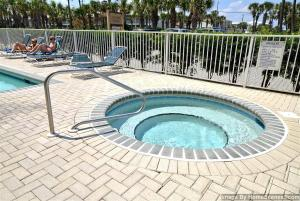 The swimming pool at or near Emerald Dunes 103 Condo