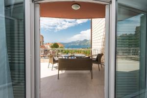 A balcony or terrace at Villa Markoc