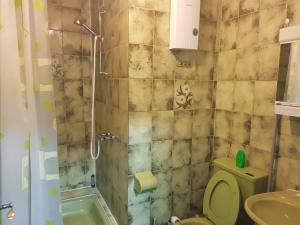 Ein Badezimmer in der Unterkunft Franz Berg Apartman Greimerath