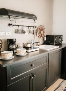 A kitchen or kitchenette at Casa MarAlta