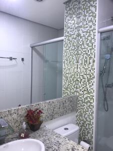 ห้องน้ำของ Frente mar