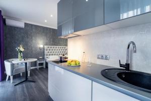 Kuchnia lub aneks kuchenny w obiekcie Apartments in City Center Area