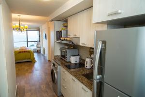 Una cocina o kitchenette en Studio Bariloche
