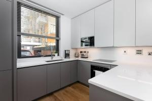 A kitchen or kitchenette at London Luxury - Greenwich - O2