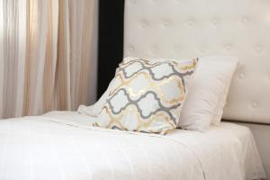 Ένα ή περισσότερα κρεβάτια σε δωμάτιο στο Georgia Studios