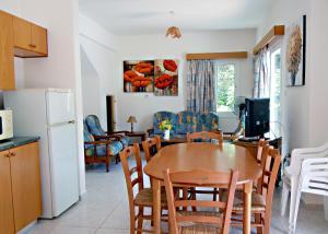 빌라 식사 공간