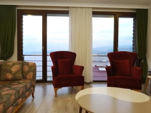 Jūros panorama iš apartamento arba bendras jūros vaizdas