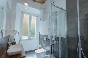 Koupelna v ubytování Testaccio historic house