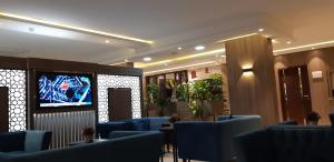 The lounge or bar area at Mera Houses Aparthotel
