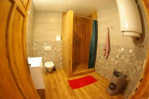 Kúpeľňa v ubytovaní Apartman Egidius