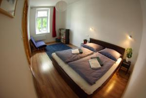 Posteľ alebo postele v izbe v ubytovaní Apartman Egidius