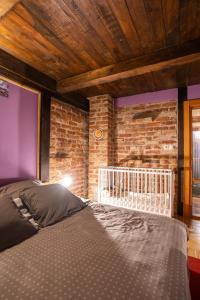 Krevet ili kreveti u jedinici u objektu Holiday Home Sumski Raj