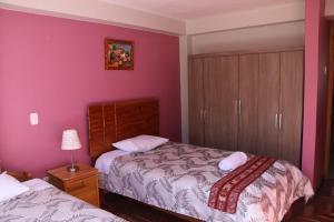 Cama o camas de una habitación en Gianella's apartment