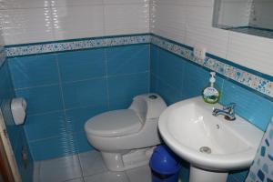 Un baño de Gianella's apartment