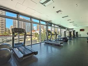 The fitness center and/or fitness facilities at Iconic Q Surfers Paradise 1 Bedroom