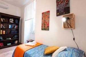 Voodi või voodid majutusasutuse Roma Street Home Lavinia toas