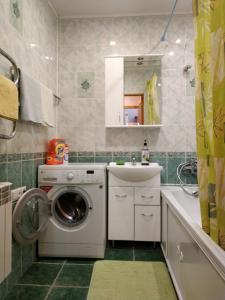 Ванная комната в Apartment on Gagarina 49