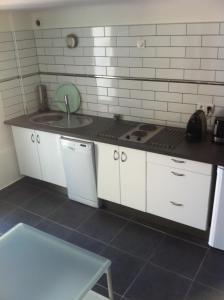 Küche/Küchenzeile in der Unterkunft Gîte Polema