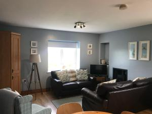 A seating area at Causeway Coast Cottage