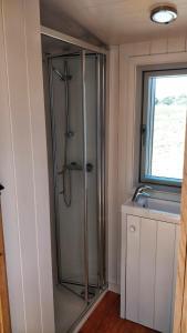 A bathroom at The Wheelhouse