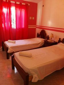 Una cama o camas en una habitación de The vila gale flat