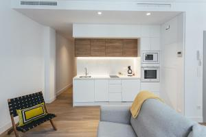 A kitchen or kitchenette at The Lucky Flats - Poeta Quintana
