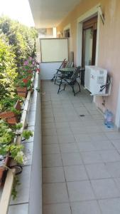 Un balcon sau o terasă la Club Residence Apartment