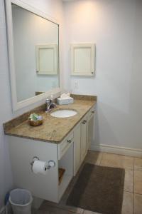 A bathroom at An Island Getaway at Palm Tree Villas