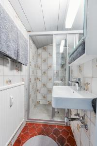 Ein Badezimmer in der Unterkunft Ferienwohnung Kuster
