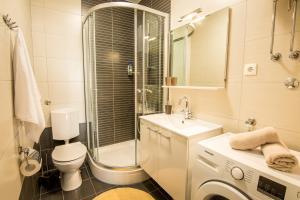 A bathroom at Apartman Petra